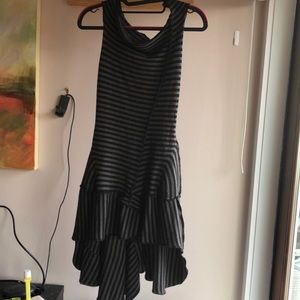 Miranda Caroligne Striped Dress XXS adult/ girls L